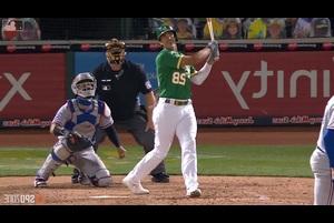 【MLB SPOZONE】現地時間8月5日のレンジャーズ戦、アスレチックスのオルソンは2発3打点の活躍でチームの勝利に貢献した。
