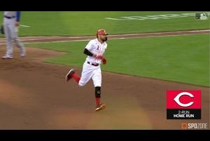 【MLB】7.29 4回裏 カステヤーノスの同点2ランホームラン [CHC@CIN]