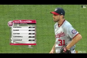 【MLB】8.12 6回を1失点7奪三振と好投したシャーザー [WSH@NYM]