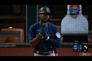 【MLB SPOZONE】現地時間8月10日のレンジャーズ戦、マリナーズのルイスは3安打1本塁打3打点の活躍でチームの勝利に貢献した。