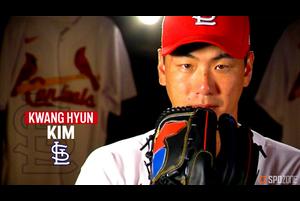 【MLB】6回を無失点に抑えて初勝利を挙げた金廣鉉 8.23 レッズ@カージナルス