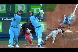 【MLB】5点ビハインドで迎えた6回裏ブルージェイズ打線爆発で7点を奪い逆転!! 8.21 フィリーズ@ブルージェイズ