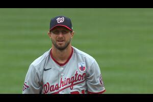 【MLB】ナショナルズ マックス・シャーザーが7回10奪三振5失点で今季2勝目をマーク 8/17 ナショナルズ@オリオールズ