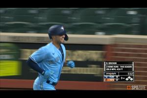 【MLB】8.18 4打点を挙げチームの勝利に貢献したグリチック ブルージェイズ@オリオールズ
