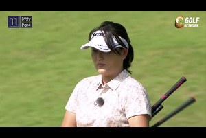 ひとりゴルフ ~北田瑠衣~(千葉県/浜野ゴルフクラブ 10番・11番ホール)