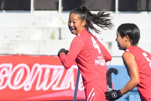 HJL2020【女子】Bプール首位突破を決めた決勝点!/FB4 浅井悠由(コカ・コーラレッドスパークス)