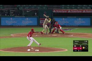 【MLB】4回表 プロファーの2ランでパドレスが同点に追いつく 9/3 エンゼルスvs.パドレス