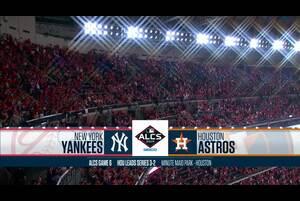 【スポーツナビMLB】アストロズの本拠地で行われたヤンキースとのリーグ優勝決定シリーズ第6戦のダイジェスト。