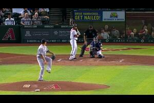 【MLB】3回裏 田中将大 三者凡退で切り抜ける 5/2 ダイヤモンドバックスvs.ヤンキース