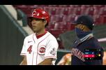 【MLB】秋山翔吾 ダイジェスト 8/4 インディアンスvs.レッズ