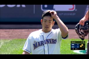 【MLB】5回表 菊池雄星 失策も絡みこの回3失点で逆転を許す 5/20 マリナーズvs.ツインズ