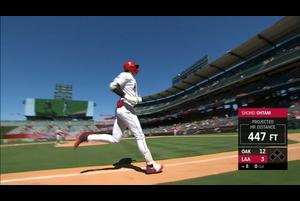 【MLB】8回裏 大谷翔平 第4打席は1試合2発となる右中間への12号ソロ 7/1 エンゼルスvs.アスレチックス