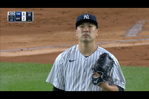 【MLB】2回表 田中将大 三者凡退に抑える 9/18 ヤンキースvs.ブルージェイズ