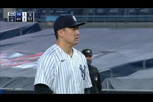 【MLB】6回表 田中将大 この回は三者凡退に抑える 9/18 ヤンキースvs.ブルージェイズ