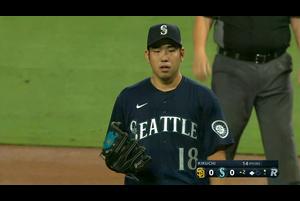 【MLB】2回表 菊池雄星 ピンチを迎えるも無失点 9/19 マリナーズvs.パドレス