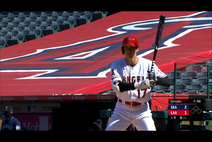 【MLB】9回裏 大谷翔平 代打で出場しヒットを放つ 9/1 エンゼルスvs.マリナーズ