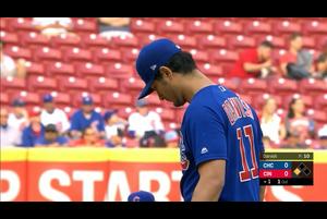 【MLB】1回裏ダルビッシュ有スアレスに二塁打を打たれ失点5/16レッズvs.カブス