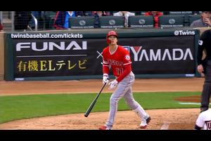 【スポーツナビMLB】5/14(日本時間)ツインズの本拠地で行われているエンゼルス戦で3番DHで出場したエンゼルスの大谷翔平は第1打席は四球、第2打席は今季初本塁打、第3打席は併殺、第4打席は四球、第5打席は右安打で、今季1号本塁打を含む3打数2安打、2四球。