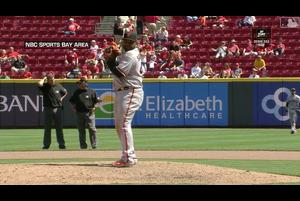 【MLB】サンドバル 本塁打&盗塁&無失点投球でメジャー二人目の快挙 5/7 レッズvs.ジャイアンツ