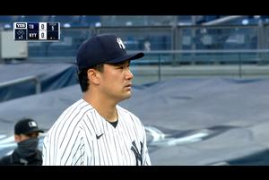 【スポーツナビMLB】<br /> 日本時間19日ヤンキースの本拠地で行われているレイズ戦に先発出場した田中将大は、4回を投げ被安打8奪三振2失点6で降板し今季初勝利ならず。