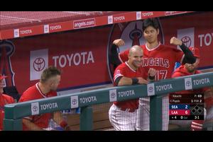 【MLB】4回裏大谷翔平菊池雄星とのメジャー初対決 第3打席は第6号ソロホームラン6/9エンゼルスvs.マリナーズ