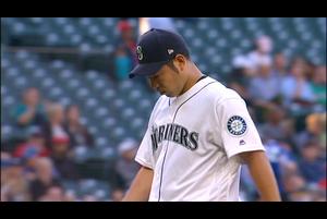 【MLB】1回表 菊池雄星 ピンチ背負うも最少失点で切り抜ける 5/31 マリナーズvs.エンゼルス