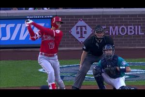 【MLB】6回表 大谷翔平 第3打席は逆方向へのソロアーチ! 6/1 マリナーズvs.エンゼルス