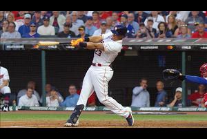 【MLB】2回裏 ブラントリーのタイムリー二塁打でア・リーグ先制! 7/10 オールスター・ゲーム