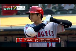 【MLB】3回表 大谷の第2打席は逆転の3ランホームラン!! 8/24 アスレチックスvs.エンゼルス