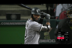 【MLB】5回表 マザーラの特大の先制ソロホームラン 9/20 レッズvs.ホワイトソックス