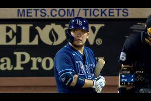 【MLB】6回表 筒香の第3打席はセカンドゴロ 9/23 メッツvs.レイズ