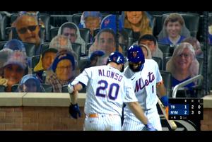 【MLB】4回裏 アロンゾの13号勝ち越しソロホームラン 9/23 メッツvs.レイズ