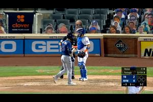 【MLB】8回表 筒香の第4打席は見逃し三振 9/23 メッツvs.レイズ