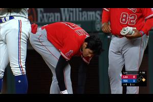 【MLB】4回表 大谷の第2打席はレフトへのヒット 9/9 レンジャーズvs.エンゼルス