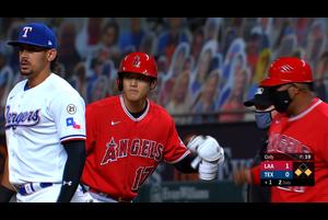 【スポーツナビMLB】エンゼルスの大谷翔平は1回表二死一塁で迎えた第1打席でバットを折りながらもチャンスを広げるライト前ヒットを放った。