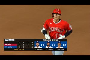【MLB】8回表 大谷の第4打席はピッチャーゴロ 9/9 レンジャーズvs.エンゼルス