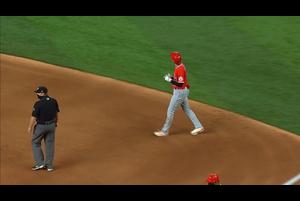 【MLB】6回表 大谷の第3打席はダブルプレーに倒れる 9/9 レンジャーズvs.エンゼルス