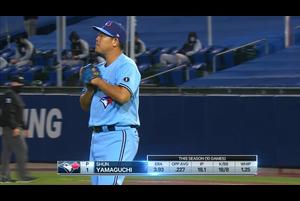 【MLB】山口俊 ダイジェスト 9/9 ブルージェイズvs.ヤンキース