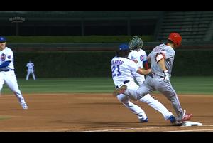 【スポーツナビMLB】レッズの秋山翔吾は4回表一死走者なしで迎えた第2打席でファーストへのゴロを放ち、一度は内野安打と判定されたものの、チャレンジの末、ファーストゴロに終わった。