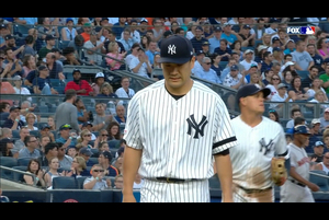【MLB】3回表 田中将大 一死一、二塁となるも無失点で切り抜ける 6/23 ヤンキースvs.アストロズ