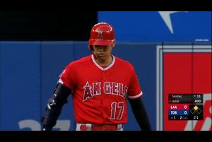 【MLB】1回表 大谷翔平 今季3個目の盗塁成功 6/20 ブルージェイズvs.エンゼルス