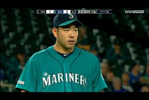【スポーツナビMLB】9/14(日本時間)本拠地でのホワイトソックス戦に先発したマリナーズの菊池雄星は、3回途中まで60球を投げ、被安打10(うち被本塁打2)、奪三振1、与四球1、失点5という不本意なピッチングに終わった。