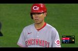 【MLB】2回表 秋山翔吾の第2打席は内野安打を放つ 9/27 ツインズvs.レッズ