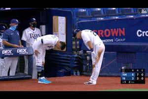 【スポーツナビMLB】レイズの筒香嘉智はブルージェイズとの開幕戦に「3番・三塁」でスタメン出場し、5回裏の第3打席で左中間への1号2ランを放った。