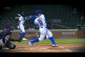 【スポーツナビMLB】カブスは2回裏一死から6番バイエズがセンターへのソロ本塁打を放ち、1点を先制した。