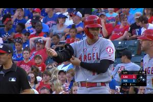 【MLB】3回表 大谷翔平 第2打席はセンター前ヒット 7/5 レンジャーズvs.エンゼルス