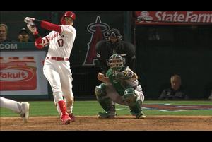 【MLB】6回裏 大谷翔平 第3打席は今季4号となる2ランホームランを放つ 6/5 エンゼルスvs.アスレチックス