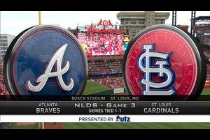 【MLB】試合ダイジェスト 10/7 カージナルス vs.ブレーブス