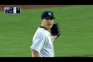 【MLB】2回表 田中将大 ヒット許すもダブルプレーで仕留めこの回も無失点 9/2 ヤンキースvs.レイズ