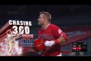 【MLB】3回裏 マイク・トラウトの今季13号2ランでエンゼルス先制 9/3 エンゼルスvs.パドレス